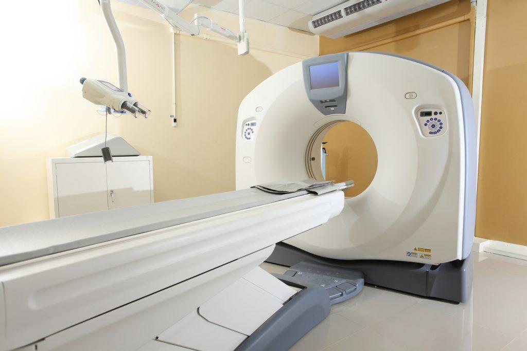 電腦斷層掃描可清晰透視身體內各部位,包括心臟、血管等。